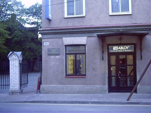 Maakri 28 A Rävala pst. ja Hotell Radisson SAS poolt tulles.